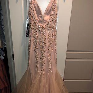 Blush Jovani gown size 00